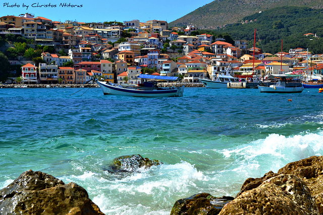 Parga Greek Island on Mainland